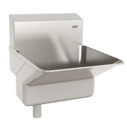 AWHB1414P-00 Clinical wash basin,18 gauge, Saniguard