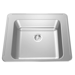 Classroom sink - Back, left & right faucet ledges