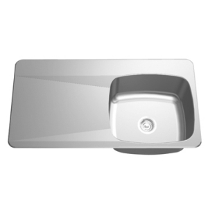 Drainboard Sink - Single bowl, left drainboard