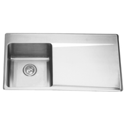 LBSDBR6408P-1 Single bowl, right drainboard