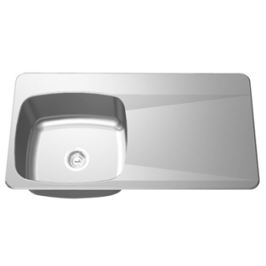 Drainboard Sink - Single bowl, right drainboard