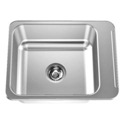 Classroom sink - Right faucet ledge