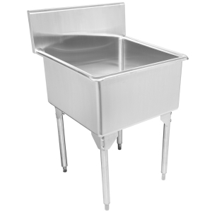 Type 316 laboratory - Scullery sink, 16 gauge, single