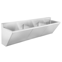Healthcare - Scrub sink, triple compartment