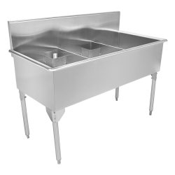 Scullery Sink Classic Series - Triple, 16 gauge