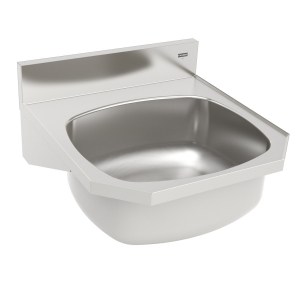 Hand wash basin - Wall Hung, 18 gauge, overflow