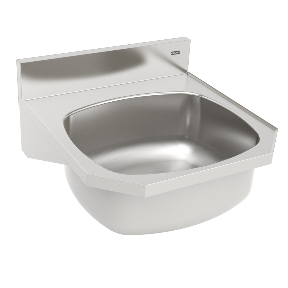 Hand wash basin - Wall Hung, 18 gauge