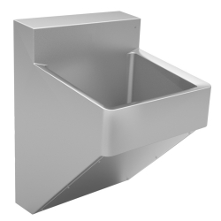 Healthcare - Premium scrub sink, single, 16 gauge